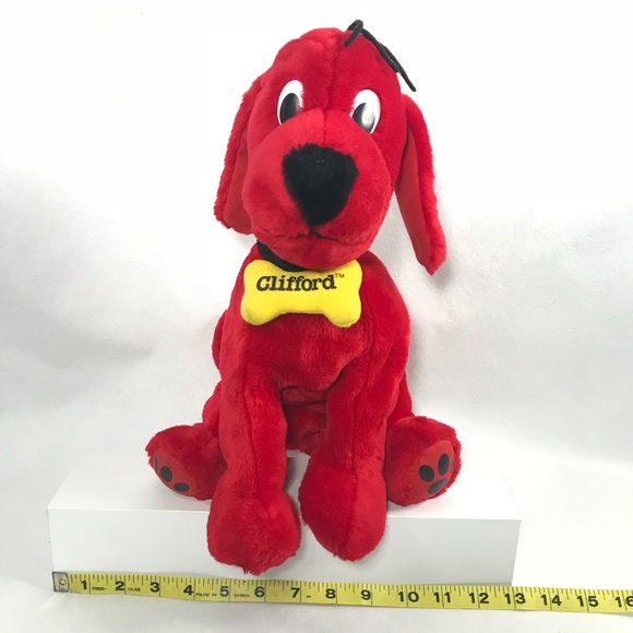 f074245abcc0b Clifford the Big Red Dog Plush Kohl's Cares